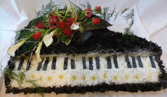 Special large tributes - Piano.