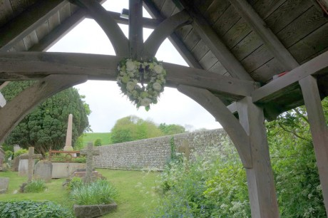 Lych gate heart