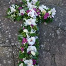 Large floral Cross