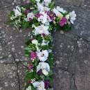 Large floral Cross