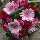 Contemporary hand tied wedding bouquet