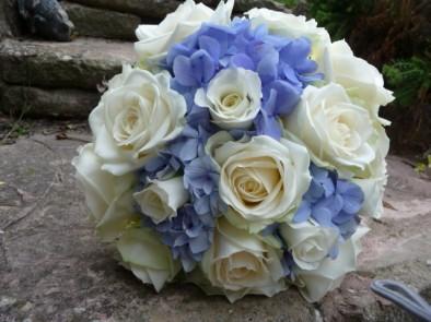 Late summer wedding bouquet