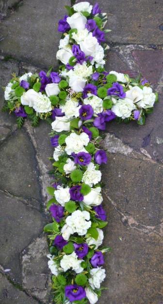 Floral cross (ref. 21)