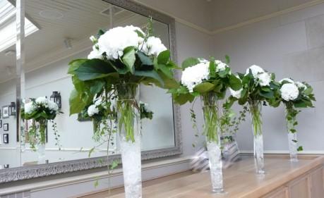 Wedding ceremony set-up at the Hotel Du Vin Brighton
