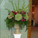 Large urn arrangement