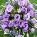 Posy of lilac eustoma (ref. 13)