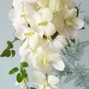 White 'shower' bouquet