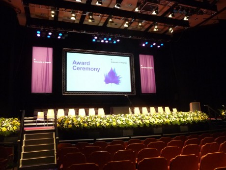 Stage display- Brighton Dome 2012