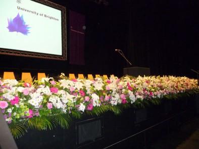 University of Brighton's award ceremonies