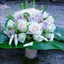 Texture romantic bouquet