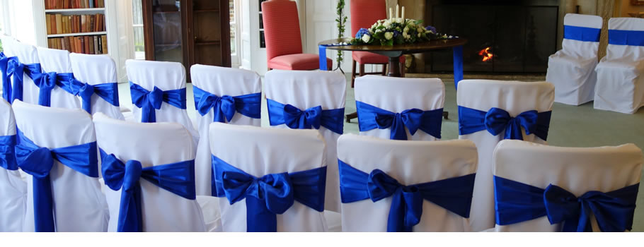 Wedding Chairs Covers to Hire - Brighton Sussex.