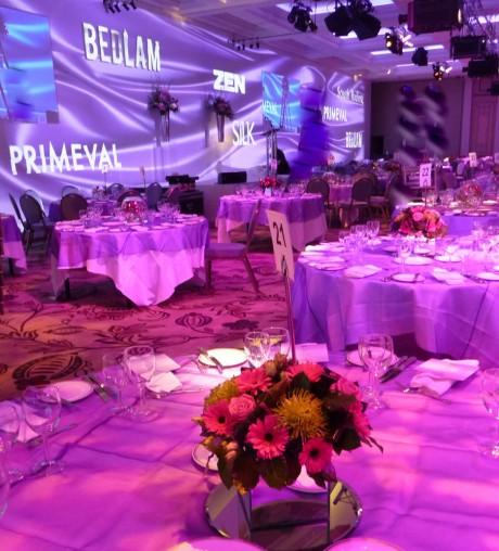 BBC Showcase- Table centres