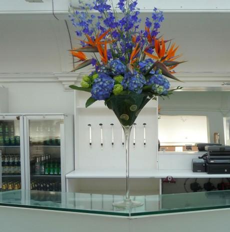 Giant flower display