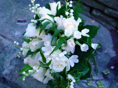 I'm getting married in December and would really like to have lily of the valley and scented garden roses in my bouquet, is this possible?