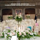 Our tall rustic candelabra are  pictured at the Great Hall, Penshurst Place, Kent