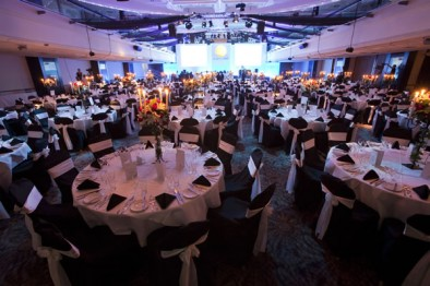 Marques' black tie gala dinner