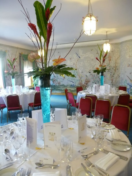 Function flowers at the Royal Pavilion